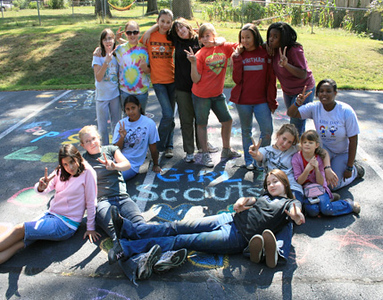 CHALK4PEACE 2008 Girl Scout Troop 862 Alexandria, VA photo: C4P Photo Gallery:http://modernarf.smugmug.com/gallery/6134899_tB3tj#387221349_XFRxQ
