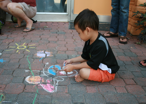 CHALK4PEACE 2008 Yoga In Daily Life, Alexandria, VA September 15, 2008