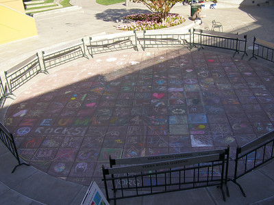 CHALK4PEACE 2008 ZEUM, San Francisco, CA 9/20/08 photo: Francesca DAlessio