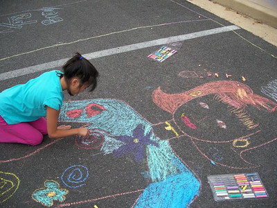 CHALK4PEACE '09 Barcroft Elementary School, Arlington, VA