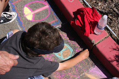 CHALK4PEACE '09 CRANE COUNTRY DAY SCHOOL, Santa Barbara, CA 9/17/09