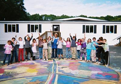 Cushing Elementary School (Scituate, MA) Art Teacher: Caitlin Clavette Photographer: Sarah Jayne Bleiweis
