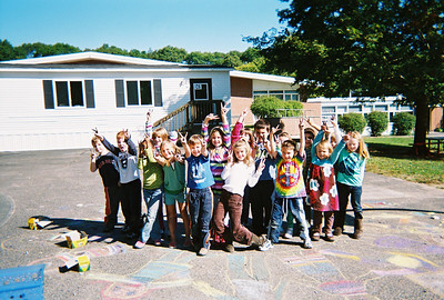 CHALK4PEACE '09 Cushing Elementary, Scituate, MA
