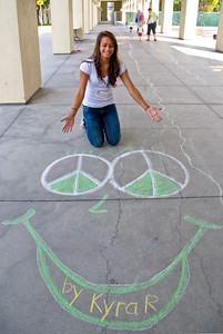 CHALK4PEACE 2009  9/12/09 CHILDREN'S DISCOVERY MUSEUM of SAN JOSE Organized By Sandy Derby Photo: Jerry Downs Photography