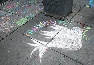 CHALK4PEACE Busboys and Poets Washington, DC 9/11/10  Photos: Marielle Mariano