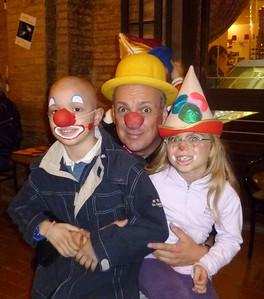 Paolo and friends  2010 Clown and Clown Festival   Monte San Giusto, Italy photo: Vittoria Testamanti