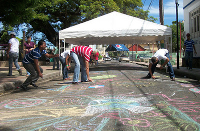 CHALK4PEACE  Club Rotaract de Moca, Dominican Republic photo: