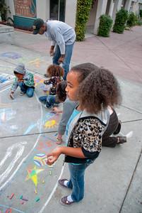 CHALK4PEACE 2010 9/19/10 MOCHA, Oakland, CA Organizer: Rae Holzman photo: Jerry Downs Photography