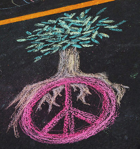 CHALK4PEACE 2010 9/18/10  an event within the International Day of Peace celebration at Peace, Love and Balance, Virginia Beach, VA photo: Karal Gregory