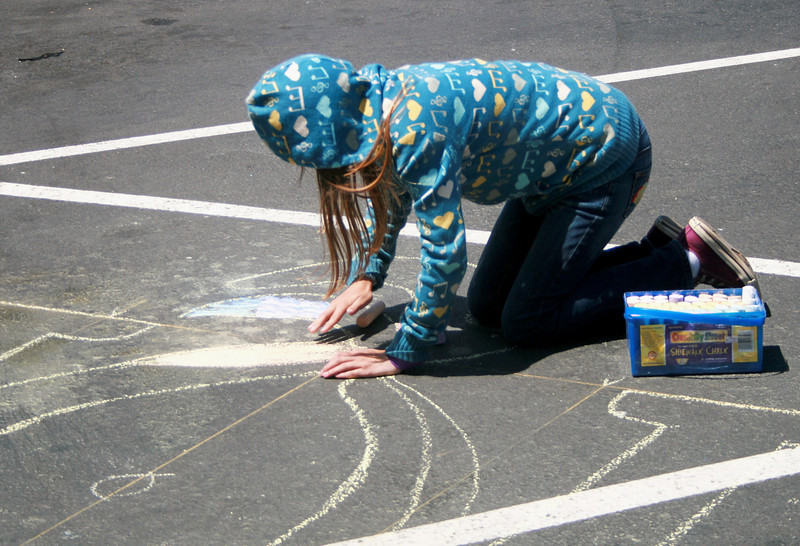 WHOLE FOODS NOE VALLEY, SF, CA CHALK4PEACE 2010 6/19/10 Organizers: Rich Bertrand, photos: Jonothan Dumas