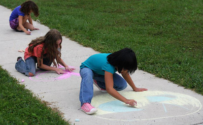 CHALK4PEACE 2011  Damascus Community Recreation Center Damascus, Maryland Sept. 21, 2011 photos: Linda Panagolis