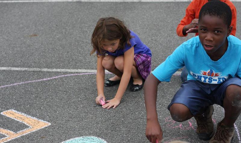 CHALK4PEACE 2011  Damascus Community Recreation Center Damascus, Maryland Sept. 21, 2011 photos: Linda Panagolis