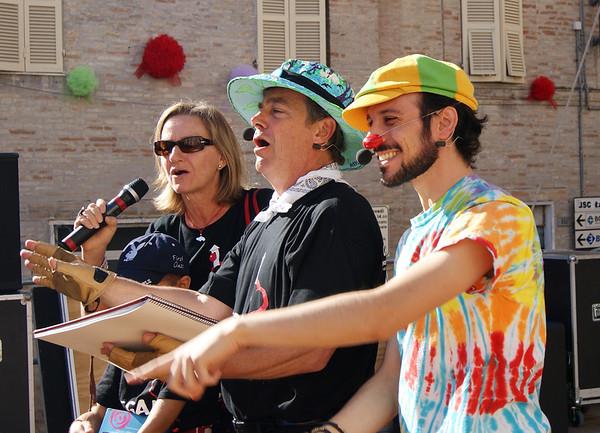CHALK4PEACE 2011 Festival Clown E Clown, Monte San Giusto, Italia