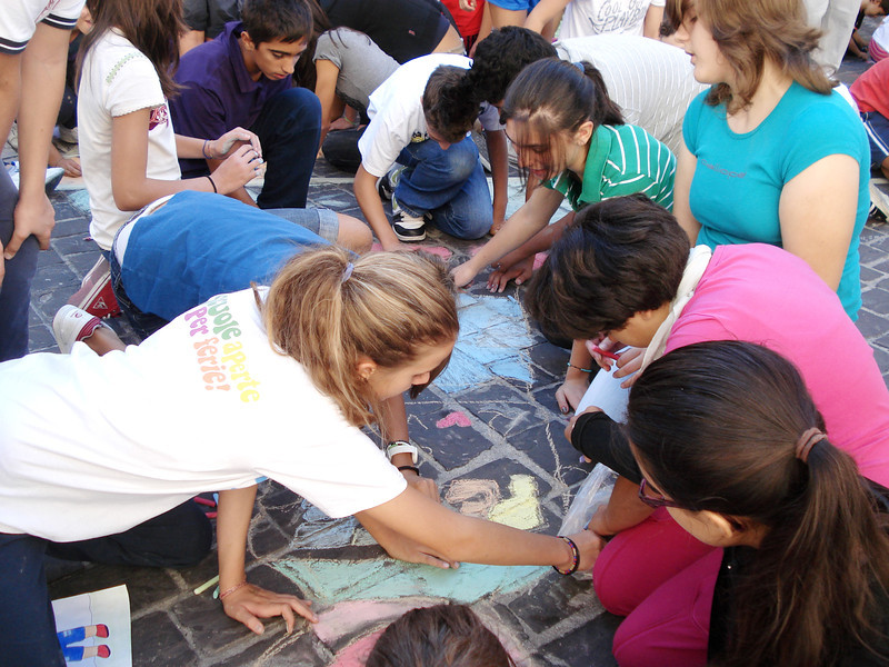 CHALK4PEACE at the