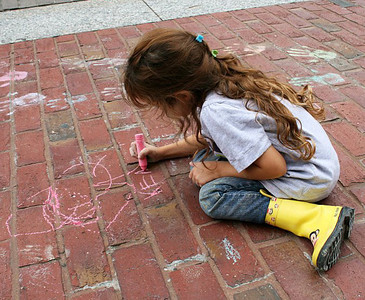CHALK4PEACE 2011 Washington, DC 9/24/11 Nice boots! Smithsonian American Art Museum & National Portrait Gallery  photo: Marielle Mariano