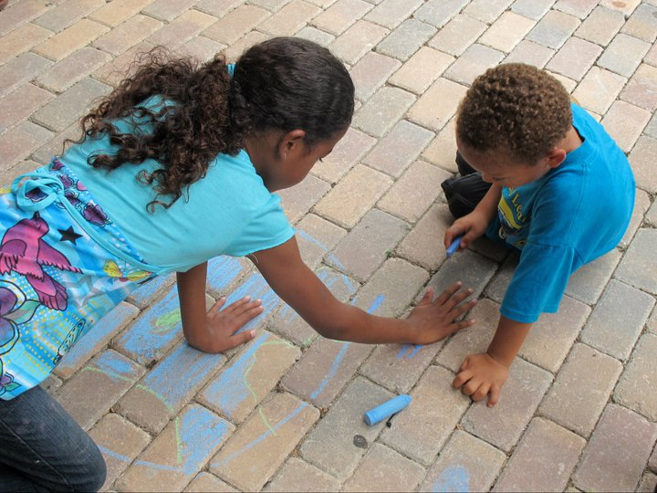 CHALK4PEACE St Thomas was held at 