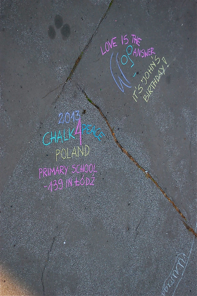 Chalk4Peace 2013 - Primary School 139 
