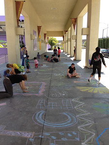 CHALK4PEACE 2013 Children's Discovery Museum of San Jose 9/14/13  photo: John Aaron