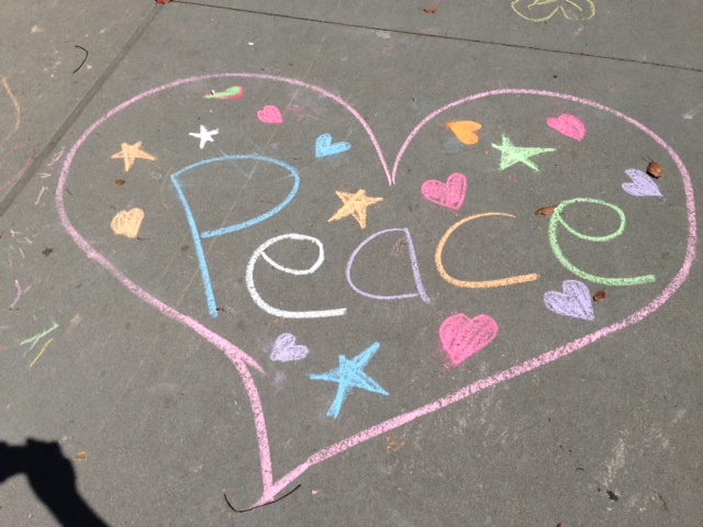 CHALK4PEACE 2013 Children's Discovery Museum of San Jose 9/14/13 