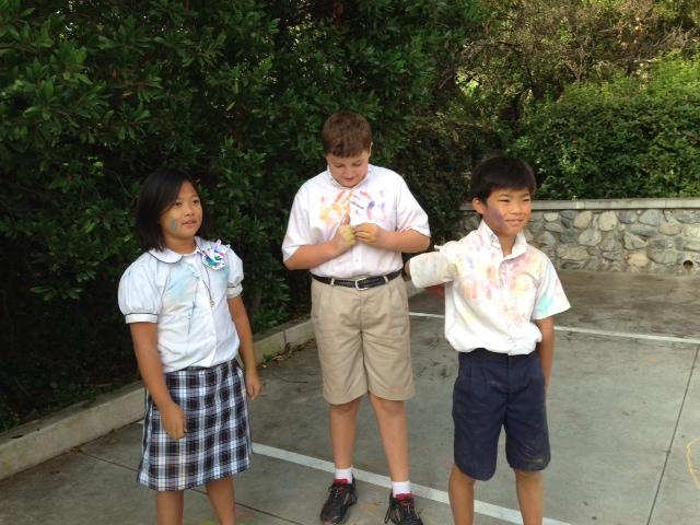 CHALK4PEACE 9/14/13  Gooden School Sierra Madre, CA photo: Sharon Hall