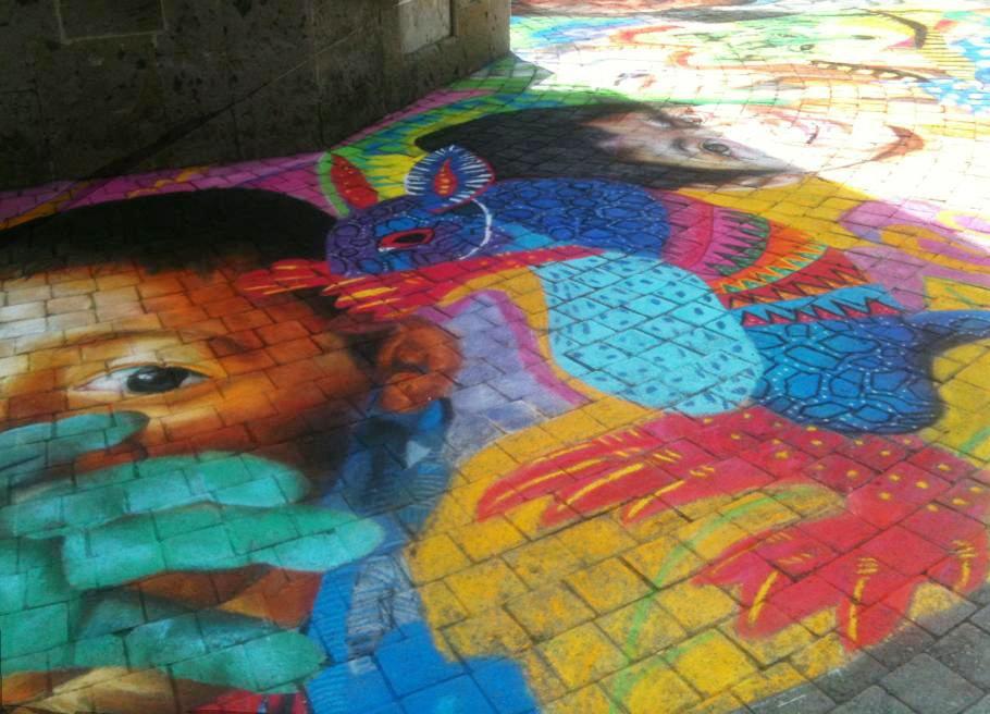 Gises Por La Paz 2013  Colores de Jalisco y la Instituto de Cultura Zapopan  Glorieta Chapalita Jalisco, Guadalajara photo: Guillermo Vazquez Camaco