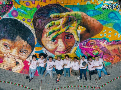 Gises Por La Paz 2013  Colores de Jalisco y la Instituto de Cultura Zapopan  Glorieta Chapalita Jalisco, Guadalajara photo: