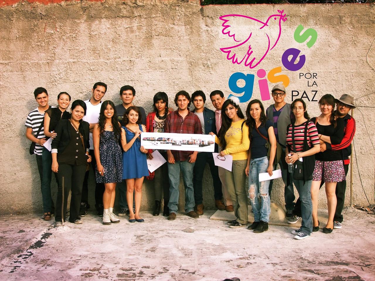 Gises Por La Paz 2013  Colores de Jalisco y la Instituto de Cultura Zapopan  Glorieta Chapalita Jalisco, Guadalajara photo: