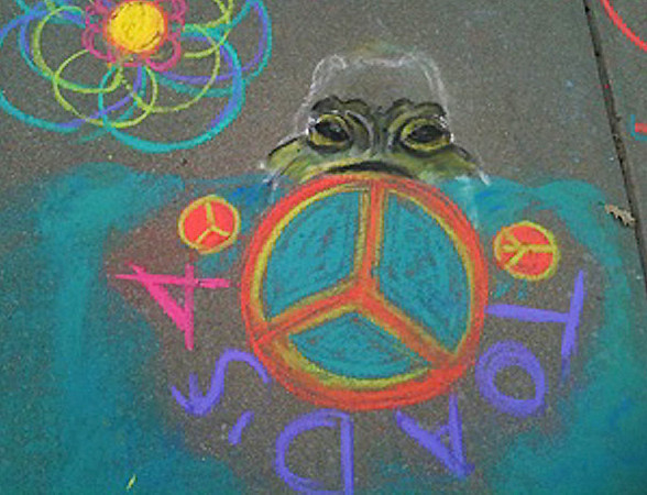 Dr. King Celebration at the Thacher School-CHALK4PEACE 1-23-13