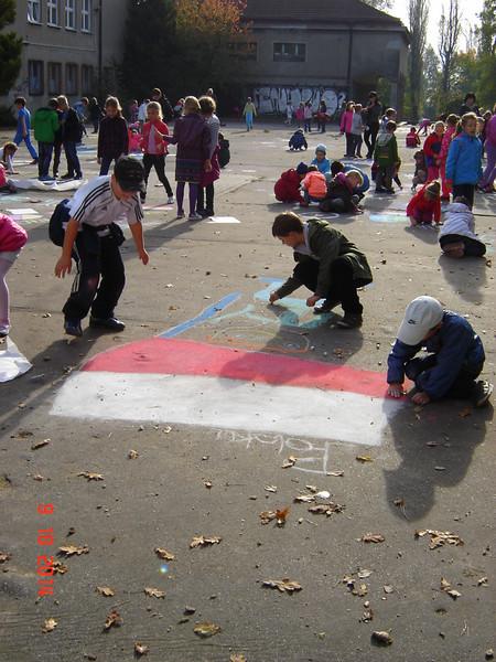 CHALK4PEACE '14 PS 139, Lodz, Poland  Photos K. Gałaj, A. Tomasik