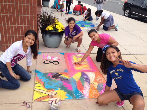 CHALK4PEACE '14 