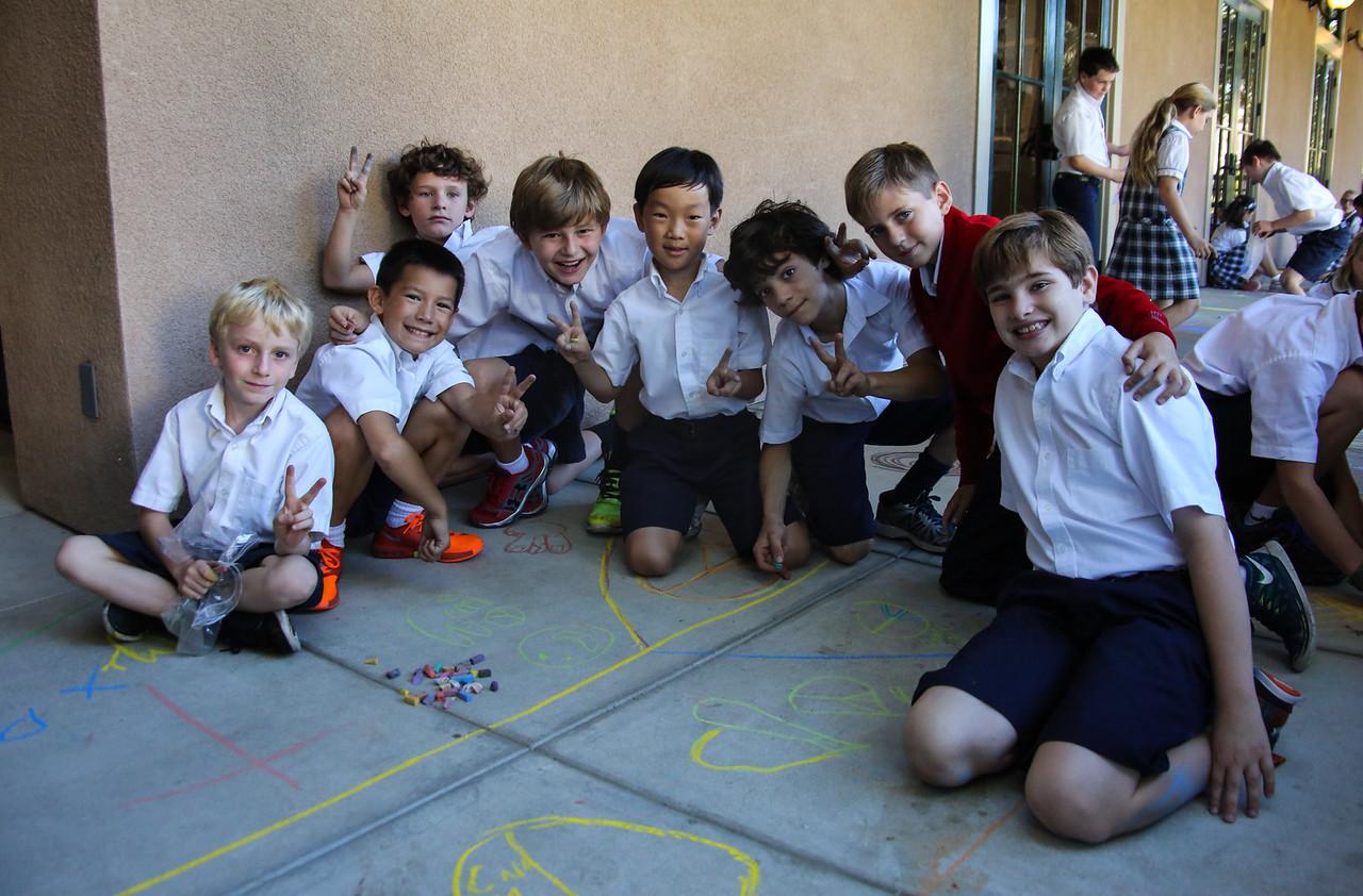 CHALK4PEACE '14 The Gooden School  Sierra Madre, CA  photo: Meghan Snyder