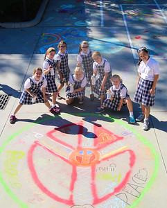 CHALK4PEACE '14 The Gooden School  Sierra Madre, CA  photo: Meghan Snyder