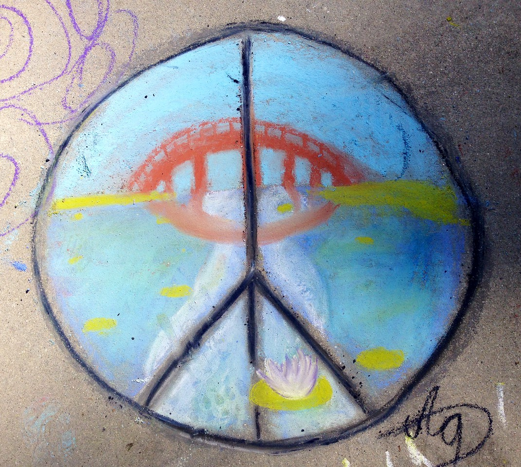 CHALK4PEACE '14 The Gooden School 