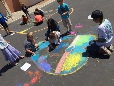 CHALK4PEACE 2015 Open Alternative School, Santa Barbara, CA