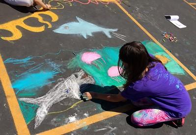 CHALK4PEACE 2015 Open Alternative School, Santa Barbara, CA