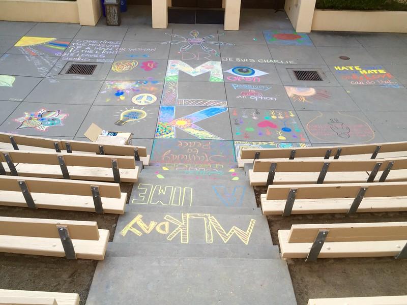 CHALK4PEACE Thacher School Dr. Martin Luther King, Jr. Day Celebration Jan 18, 2015