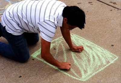 CHALK4PEACE St. Louis Community College  at Florissant Valley, Ferguson, MO photo: