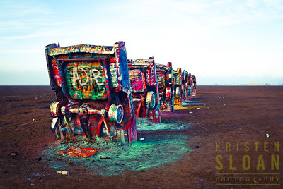 Cadillac Ranch Amarillo Texas - Kristenphotography