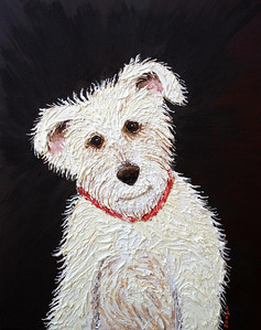 """Jack"" Oil on canvas Private Commission, Ojai, CA"