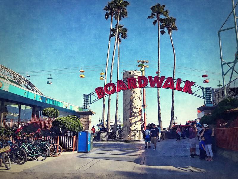 Santa Cruz Boardwalk Entry