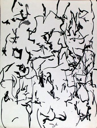 Sumi-e Calligraphy 12-28-2006