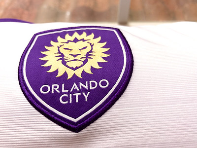 Ready to soak Orlando City Purple rain