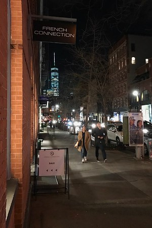 At the corner of a night, New York 12/16
