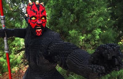 Darth Maul made of Legos