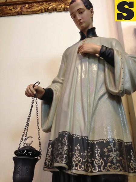Sacristan relic at Capiila Santa Ana