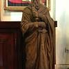 Wooden relic at Capilla Santa Ana