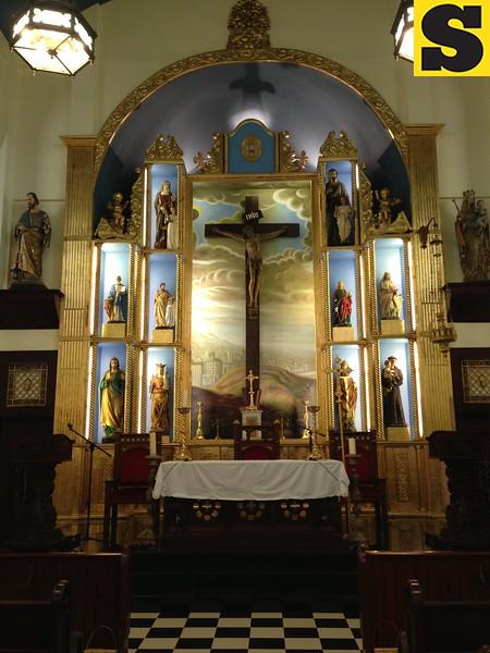 Capilla Santa Ana altar