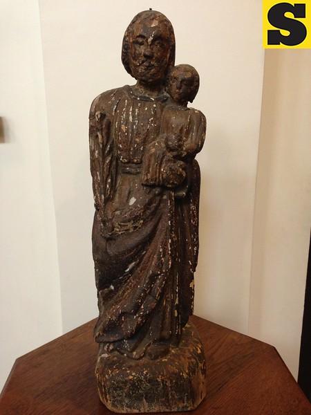 Religious image at Capilla Santa Ana