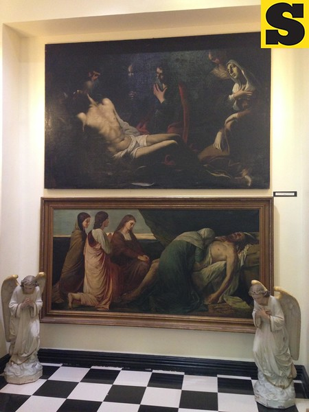 Lamentation of Christ paintings