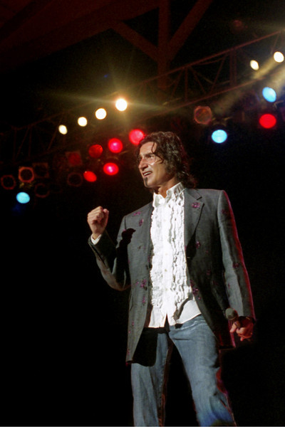 "Richard Sterban of the Oak Ridge Boys. This picture also is the cover photo of his new book... ""From Elvis to Elvira""."